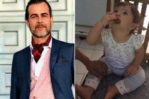 João Vitti ama brincar com a neta Clara Maria