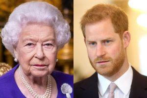 Harry fica preocupado com o quadro de saúde da avó, Rainha Elizabeth II