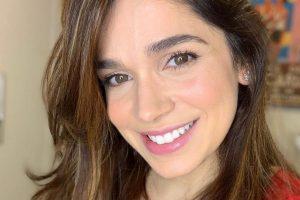 Sabrina Petraglia nas redes sociais