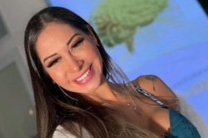 Mayra Cardi fala sobre comidas saudáveis