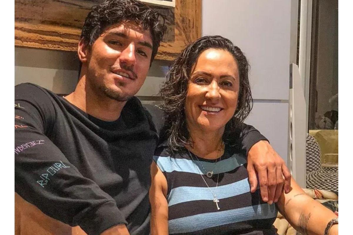 Gabriel Medina rompeu contato com a mãe (Foto: Repro
