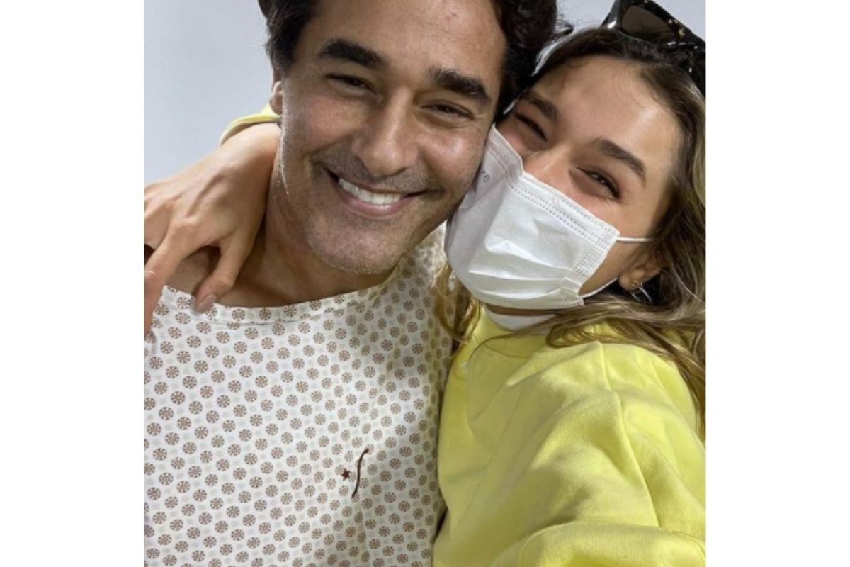 Luciano ficou internado mais de mês no hospital