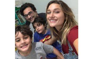 Luciano Szafir publica foto dos filhos no Dia das Crianças