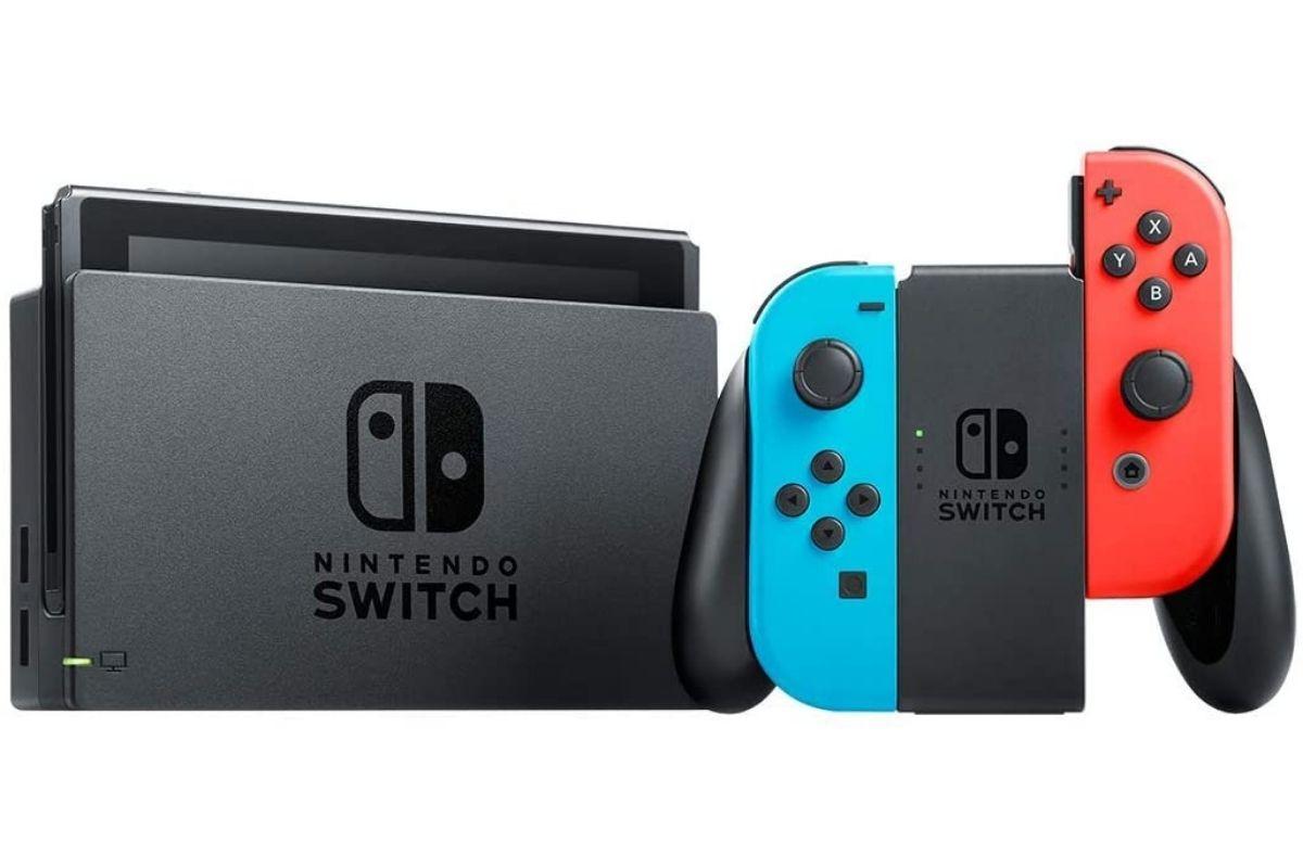 Presente para o Dia das Crianças: Console Nintendo Switch