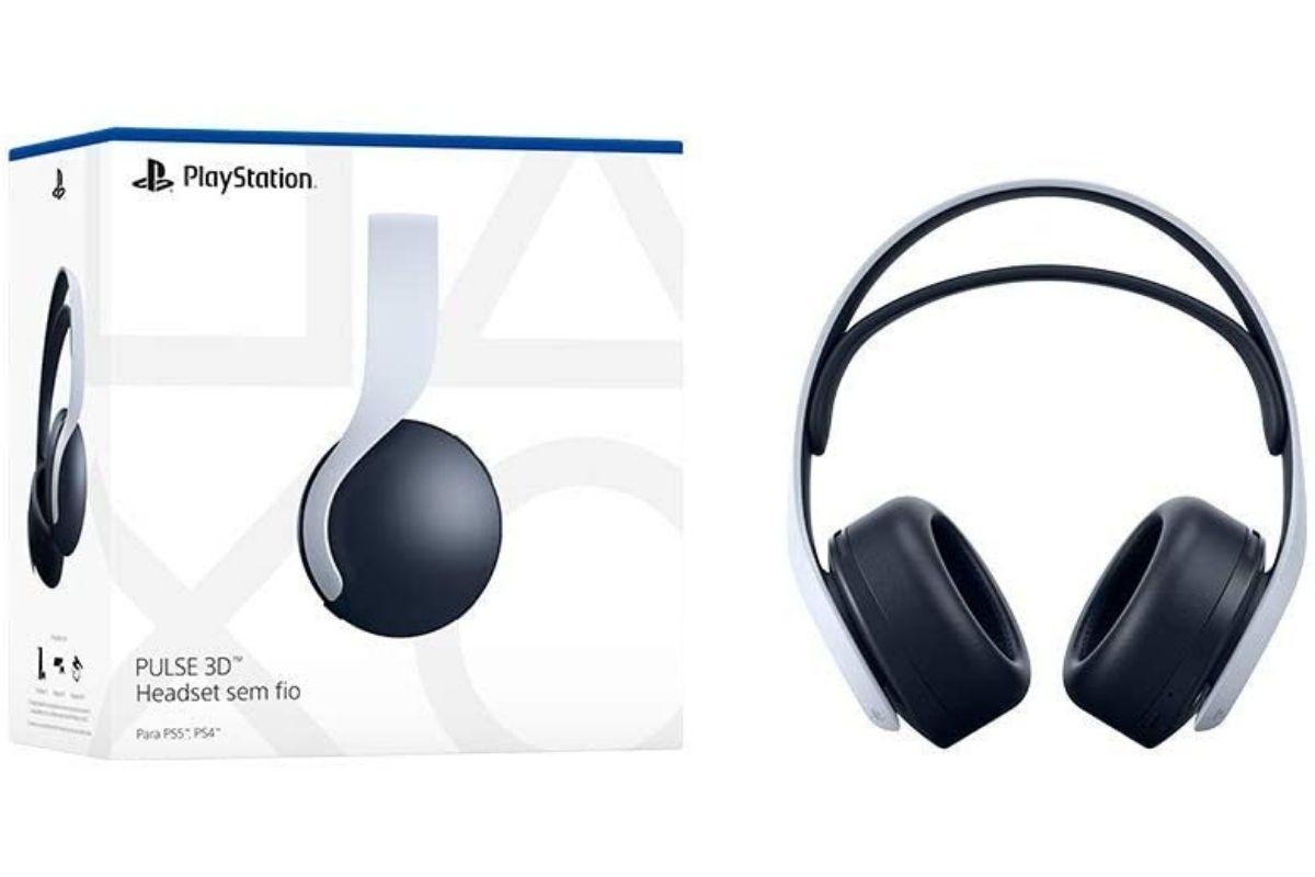 Presente para o Dia das Crianças: Headset sem fio PULSE 3D - PlayStation 5
