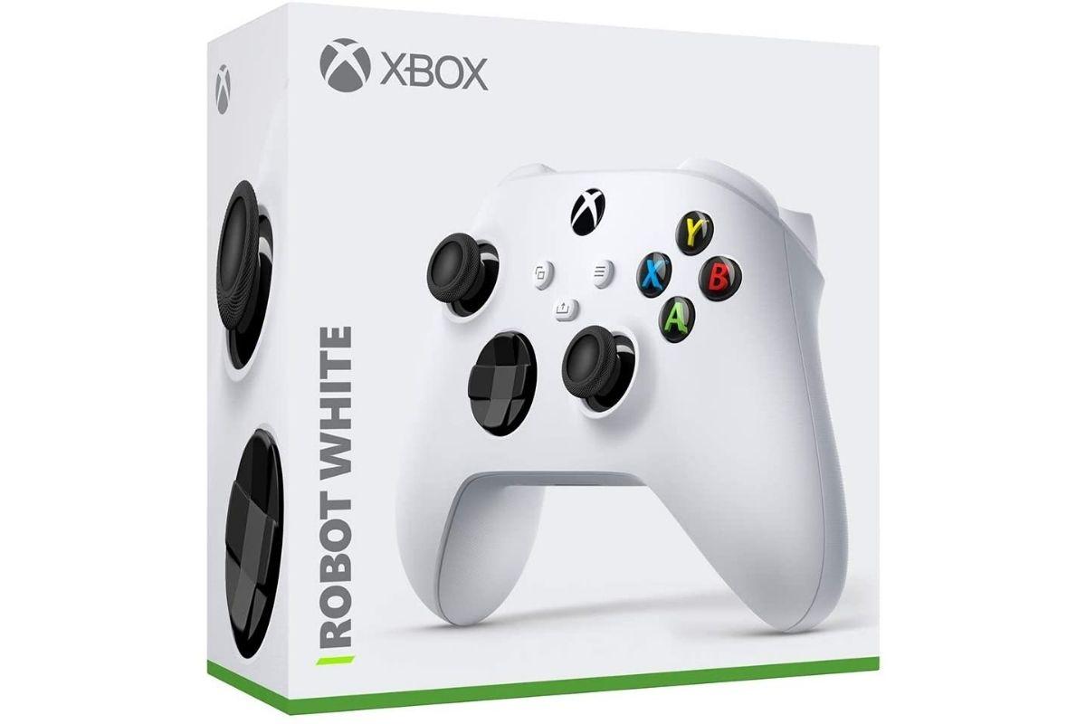 Presente para o Dia das Crianças: Controle Sem Fio Xbox - Robot White