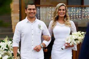 O casamento de Andressa Urach