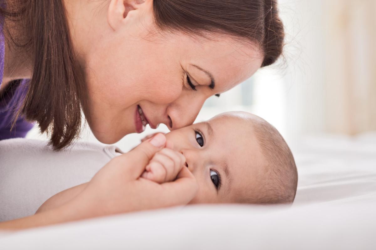 Os bebês tem um cheiro único!