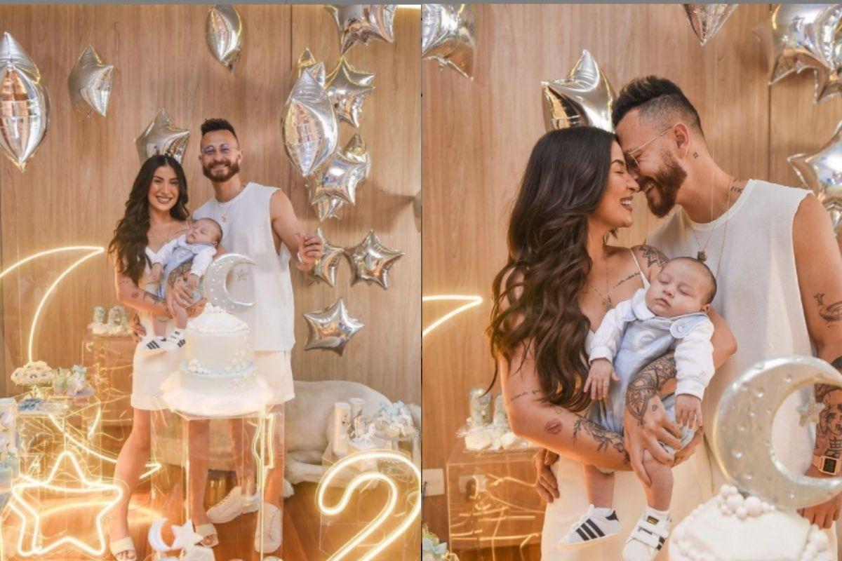 Bianca Andrade e Fred comemorar mais um mês de vida do filho