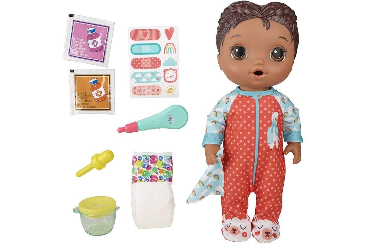 Boneca Baby Alive Aprendendo a Cuidar
