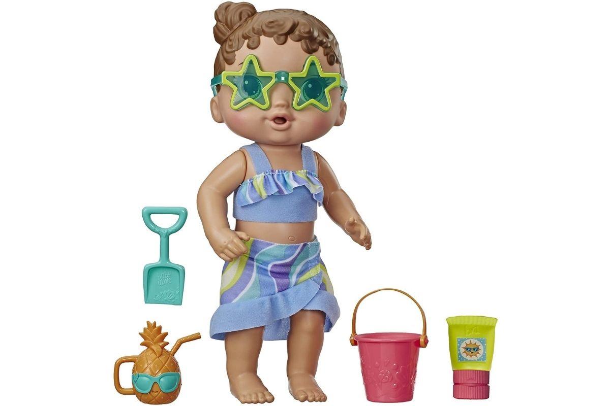 Boneca Baby Alive Sol e Areia