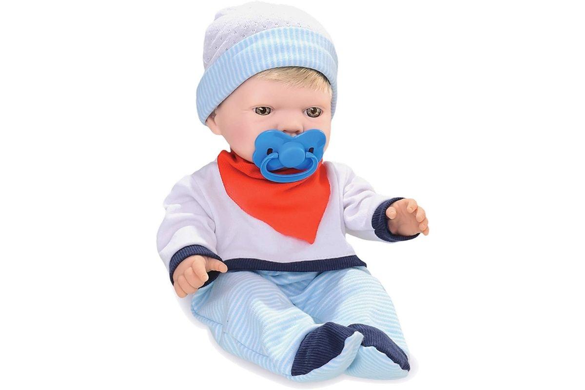 Boneca Bebezinho Real, Menino que faz xixi