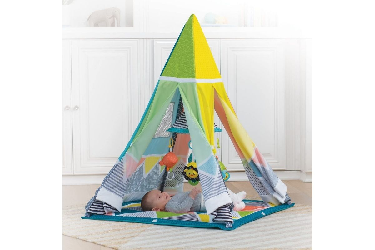 Cabana Infantil Multifuncional que acompanha o crescimento do bebê, Infantino