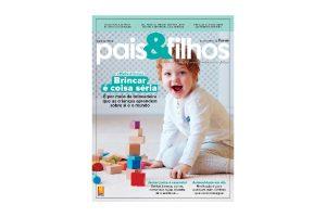 Nova edição da Pais&Filhos fala da importância do brincar para o seu filho