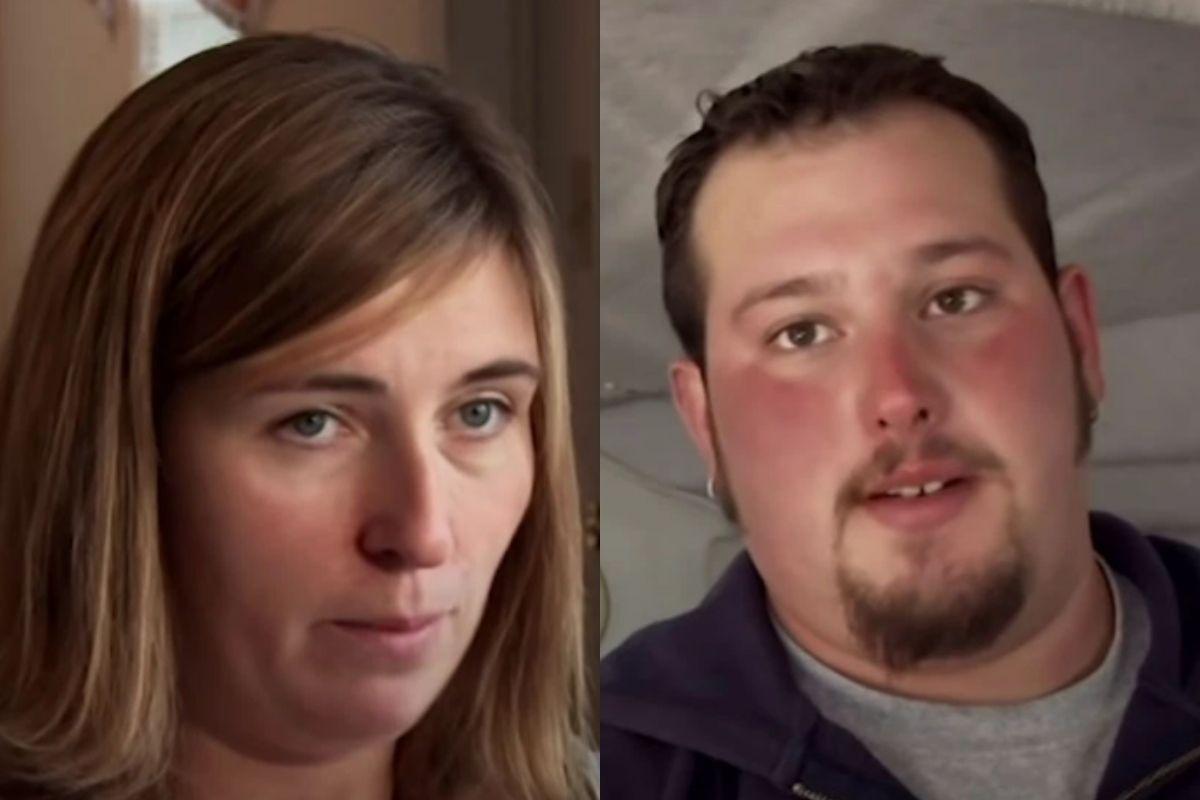 Christina e Matt, pais que tiveram um bebê sem saber da gravidez da mãe