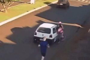 Mulher é assediada enquanto andava de bicicleta