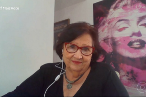 Dea Lucia falou sobre Paulo Gustavo