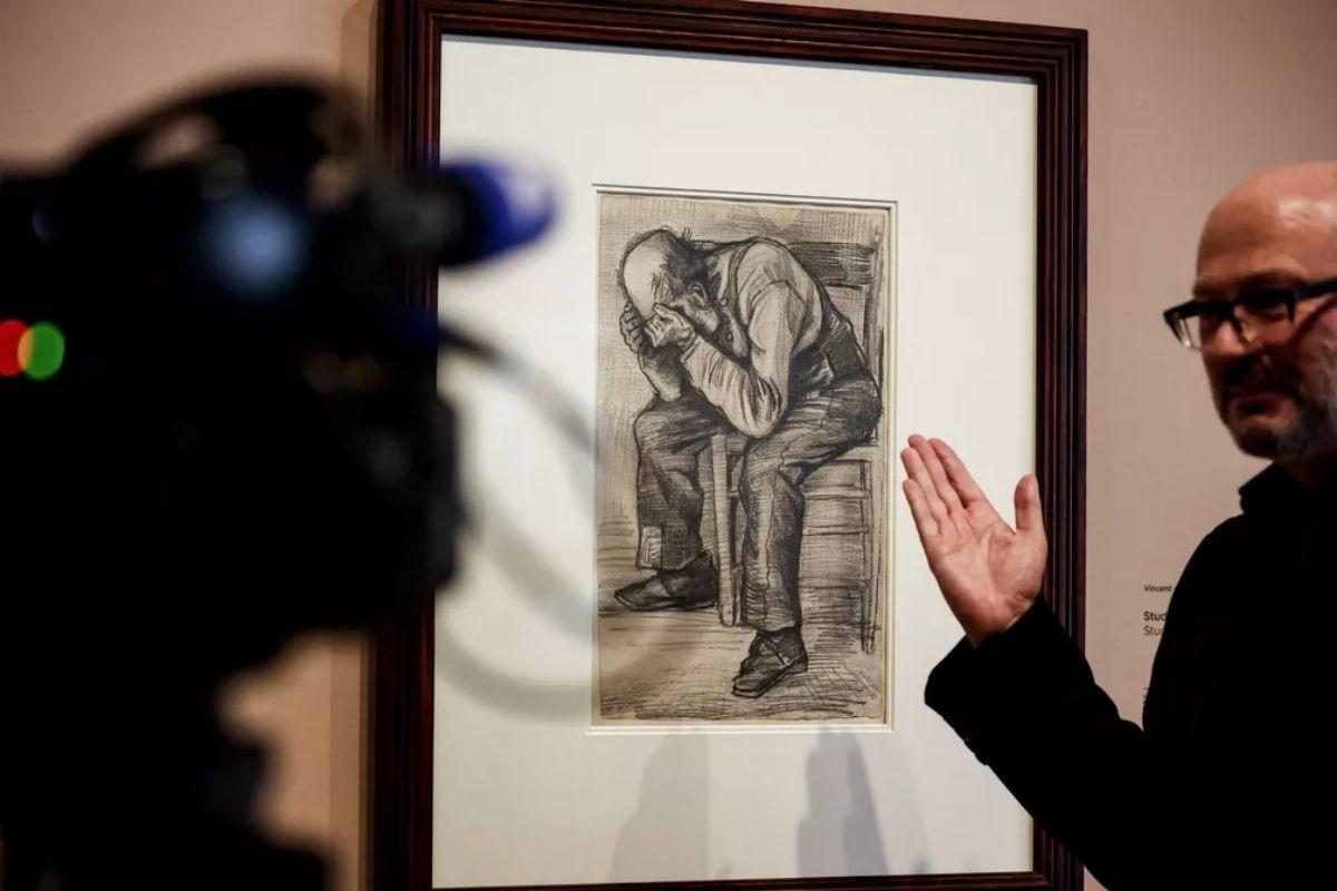 Desenho de Van Gogh é guardado por um século
