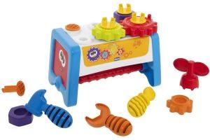 Presente Dia das Crianças: Mesa de ferramentas 2 em 1 - Chicco