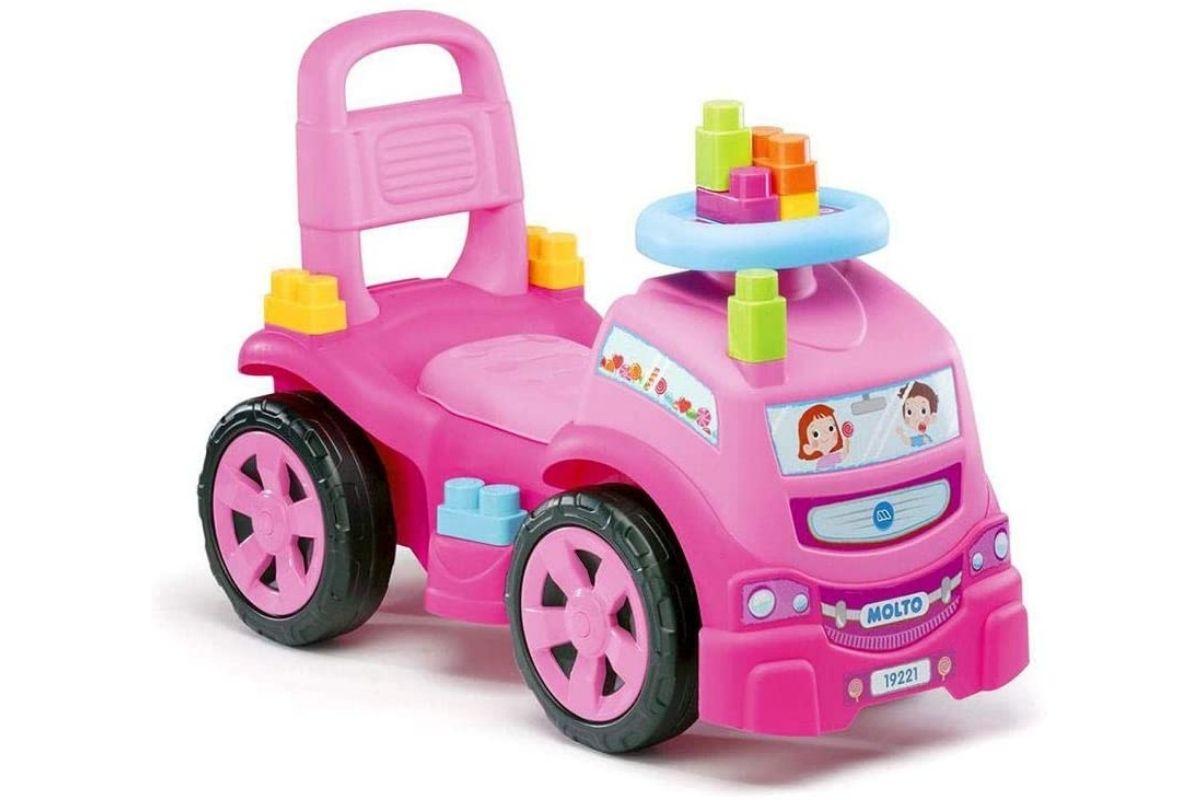 Presentes para o Dia Das Crianças: Veículo Para Bebê Blocks Truck - Cardoso Toys