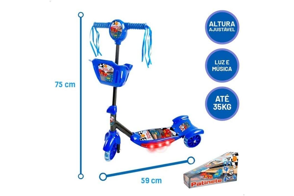 Presentes para o Dia Das Crianças: Patinete Corrida Divertida - DM Toys