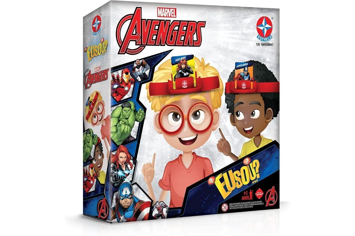 Jogo Eu Sou...? Avengers, Marvel