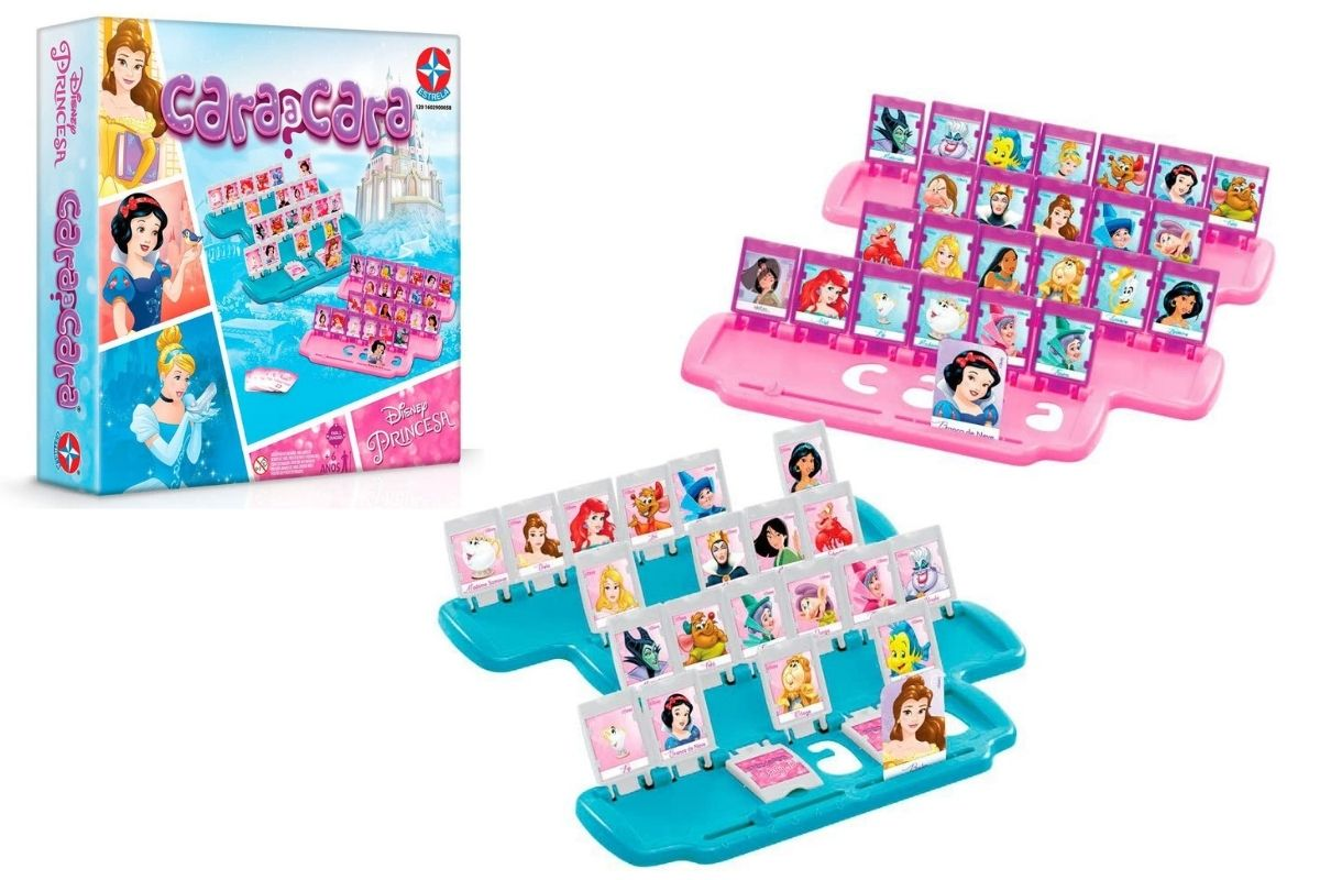Jogo Cara a Cara Princesas Disney