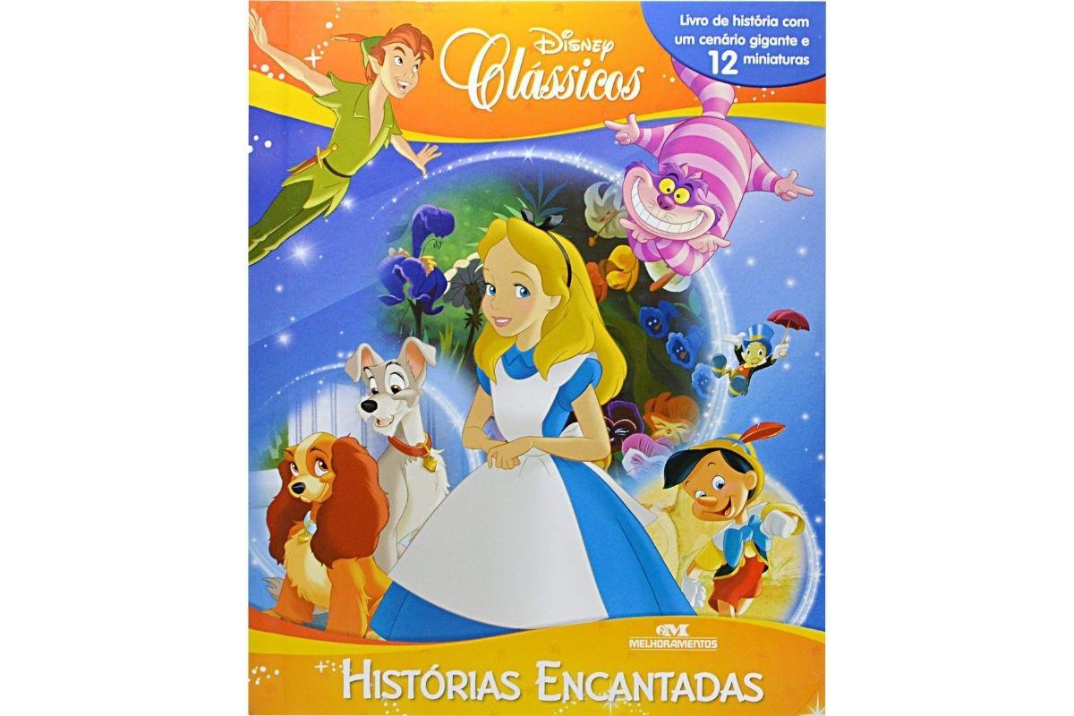 Presente Dia das Crianças: livro Clássicos Disney - Histórias Encantadas