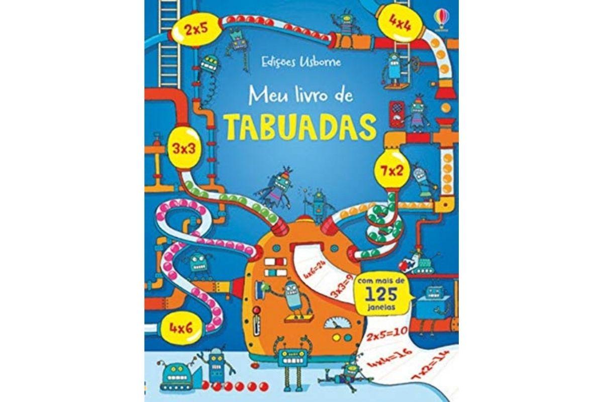 Presente Dia das Crianças: Meu livro de tabuadas - Brincar e aprender