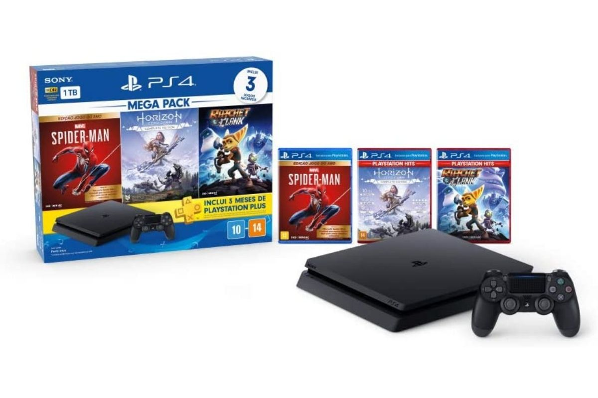 Presente para o Dia das Crianças: Console PlayStation 4 Mega Pack 15