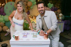 Dony de Nuccio está esperando o primeiro filho com Larissa Laibida