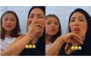 Simaria e a filha Giovanna se divertiram