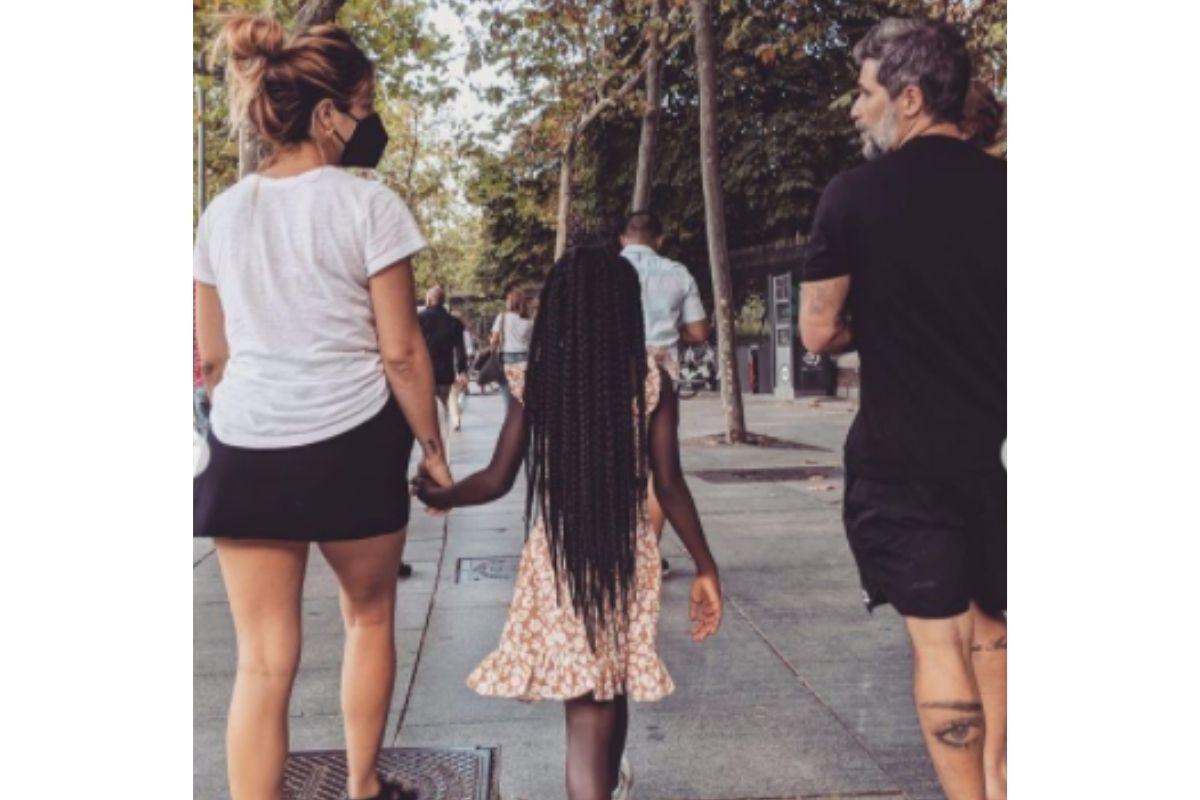 Gioh mostrou parte dos passeios em família