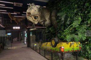 Inaura nesta quinta-feira a hamburgueria inspirada no filme 'Jurassic Park'