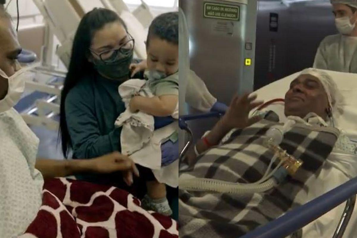 Após 4 meses no hospital Henrique finalmente conseguiu o transplant
