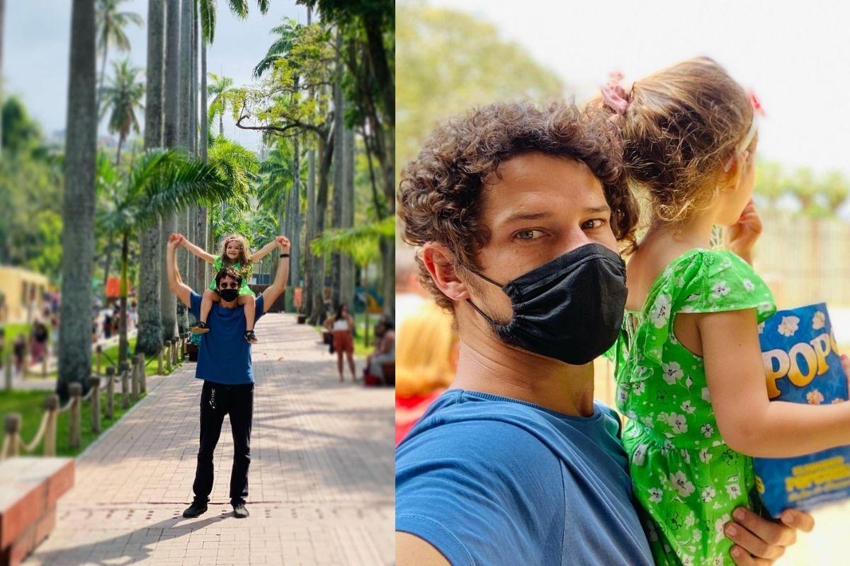 Os dois passearam pelo Zoológico do Rio de Janeiro