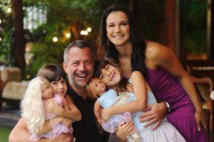 Kyra Gracie, Malvino Salvador e família