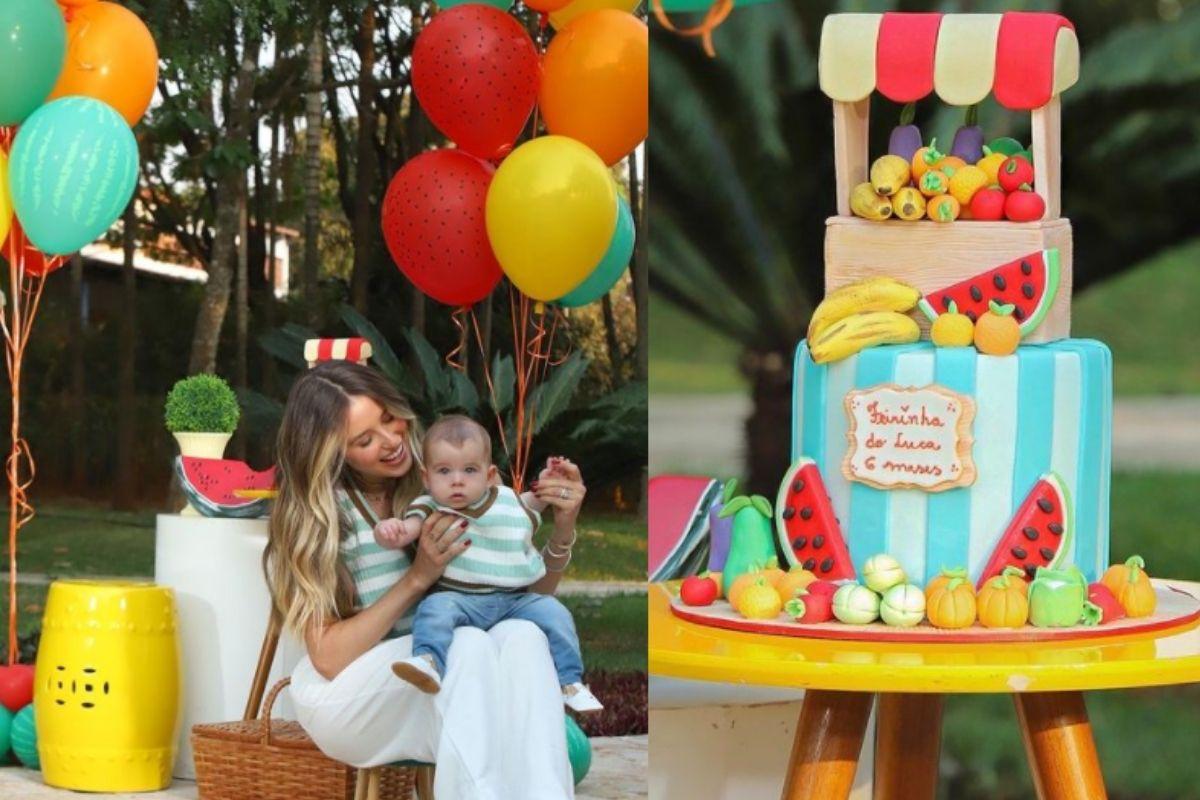 Lorena Carvalho comemora mêsversário