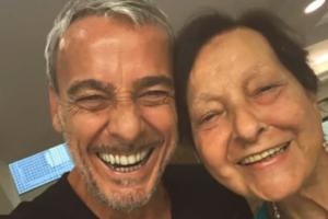 Alexandre parou tudo para cuidar da mãe com Alzheimer