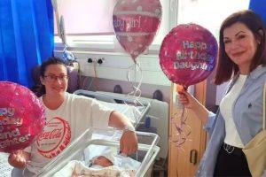 Sophia, Laura e Pauline nasceram no dia 22 de setembro