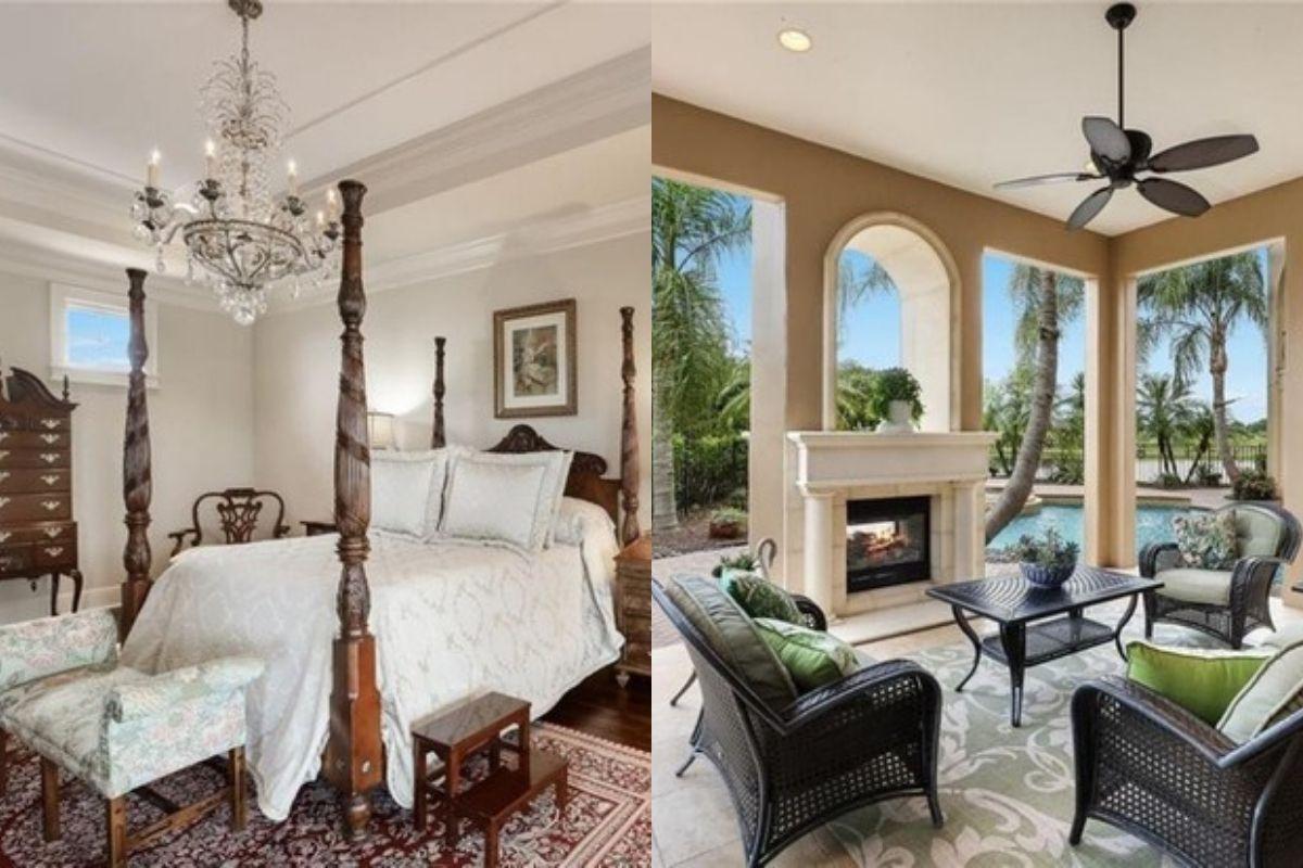A mansão fica localizada em Lakewood Ranch na Flórida