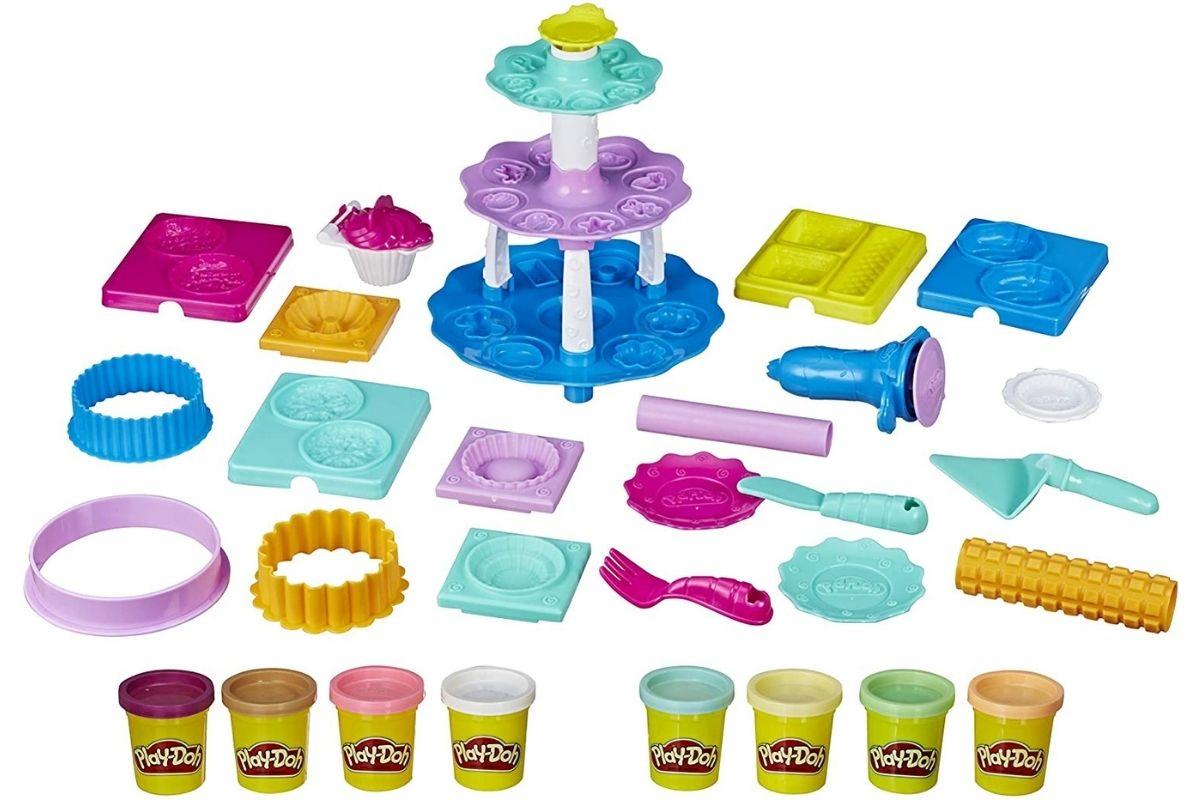 Brinquedo de massinha - Criações de Confeitaria de Play-Doh