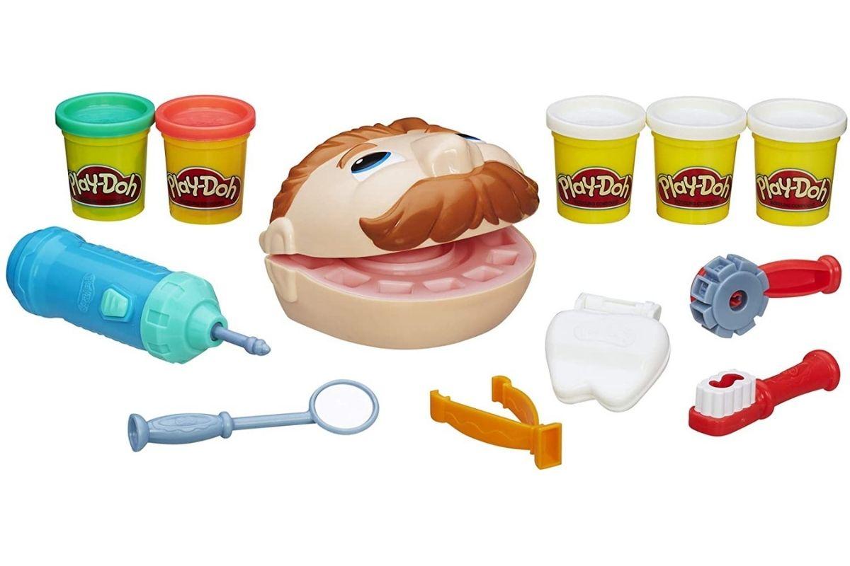 Conjunto de massinha - Dentista Clássico da Play-Doh