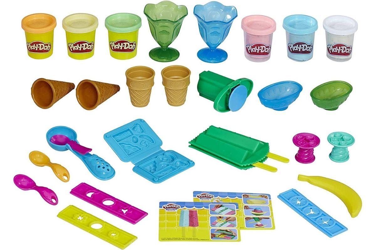 Conjunto de massinha - Festa do Sorvete da Play-Doh