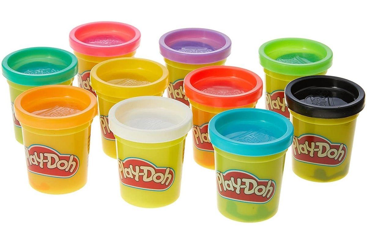 Massa de Modelar com 10 Potes da Play-Doh