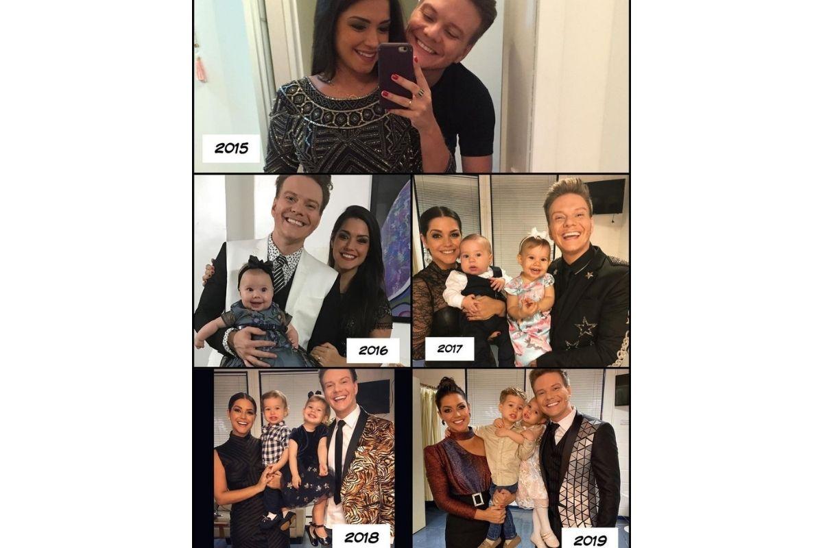 O cantor tem dois filhos com a esposa Thais Fersoza