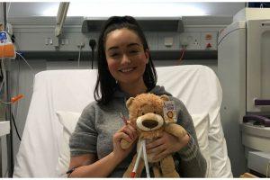 Mia foi para o hospital com a certeza de que estava grávida