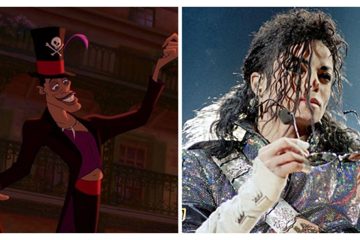 Dr. Facilier é Michael Jackson!