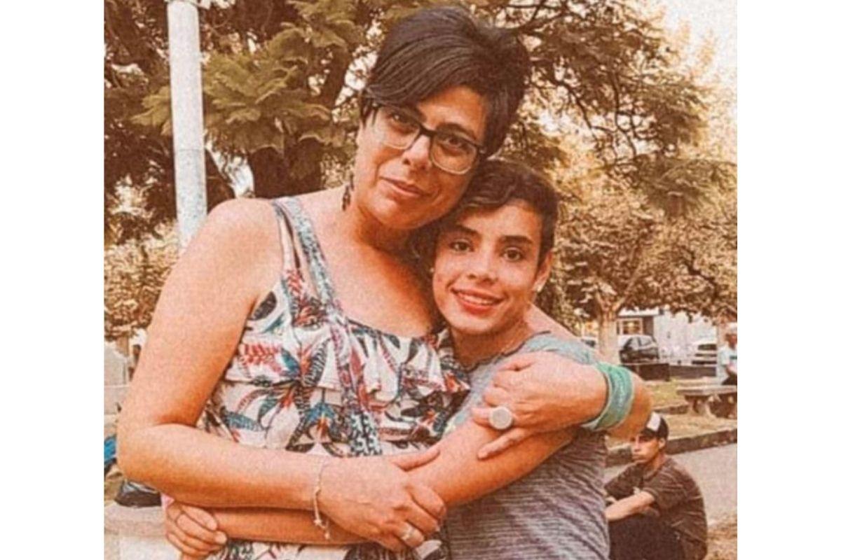 Miriam e Cami tornaram-se mãe e filha