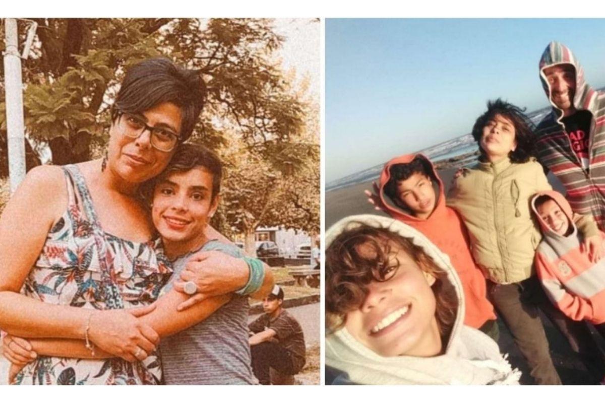 Miriam adotou Cami e outras duas crianças